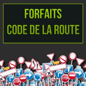 Forfaits code de la route